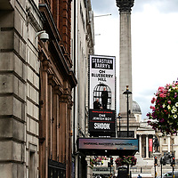On Blueberry Hill at Trafalgar Studios;<br />