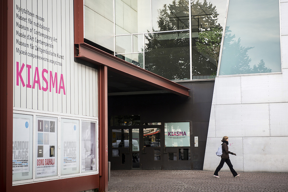 Helsinki, Finland 9 October 2012.Museum of Contemporary Art Kiasma..Photo: Ezequiel Scagnetti © European Union