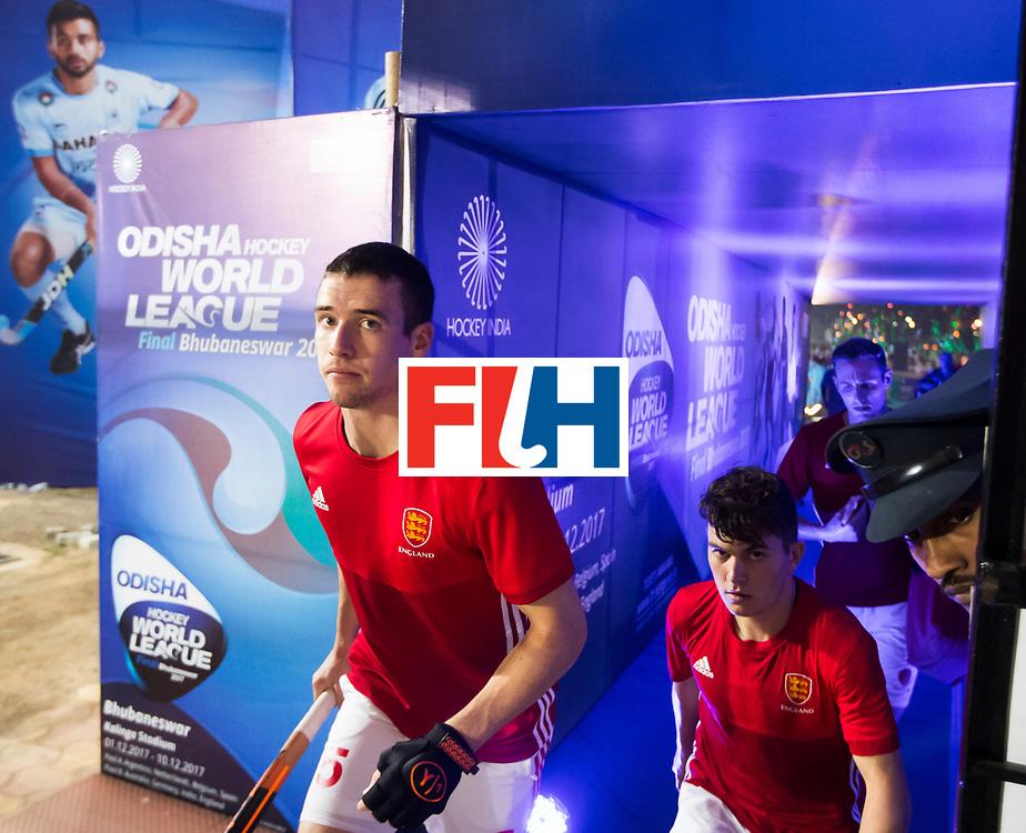 BHUBANESWAR - The Odisha Men's Hockey World League Final . Match ID 09 .  Australia v England  . .Phil Roper (Eng)  WORLDSPORTPICS COPYRIGHT  KOEN SUYK