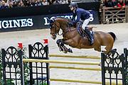 Julien Gonin on Soleil de Cornu CH during the Equestrian FEI World Cup Jumping Lyon 2017, CSI5 Longines Grand Prix on November 4, 2017 at Eurexpo Lyon in Chassieu, near Lyon, France - Photo Romain Biard / Isports / ProSportsImages / DPPI
