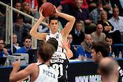 DESCRIZIONE : Trento Eurocup 2015-16 Dolomiti Energia Trento Dominion Bilbao Basket<br /> GIOCATORE : Diego Flaccadori<br /> CATEGORIA : passaggio<br /> SQUADRA : Dolomiti Energia Trento<br /> EVENTO : Eurocup 2015-2016 <br /> GARA : Dolomiti Energia Trento - Dominion Bilbao Basket<br /> DATA : 11/11/2015 <br /> SPORT : Pallacanestro <br /> AUTORE : Agenzia Ciamillo-Castoria/L.Savorelli<br /> Galleria : Eurocup 2015-2016 <br /> Fotonotizia : Trento Eurocup 2015-16 Dolomiti Energia Trento - Dominion Bilbao Basket