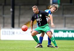 Lee Trundle takes part in the Bristol Fan Derby - Mandatory by-line: Robbie Stephenson/JMP - 04/09/2016 - FOOTBALL - Memorial Stadium - Bristol, England - Bristol Rovers Fans v Bristol City Fans - Bristol Fan Derby