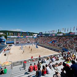 20120718: AUT, Beachvolleyball - A1 Beachvolleyball Grand Slam Klangerfurt 2012