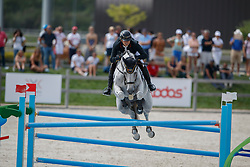 Lange Fraile Carlos, ESP, Soraya Rouge<br /> Juniors European Championships Jumping <br /> Samorin 2017© Hippo Foto - Dirk Caremans<br /> 11/08/2017