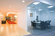 Areva Office - DBB Architecture. Reception and meeting room