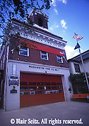 PA Historic Places, Mechanicsburg, PA, Cumberland Co., Washington Fire Company #1, Firehall