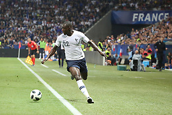June 1, 2018 - Paris, Ile-de-France, France - Benjamin Mendy (France) during the friendly football match between France and Italy at Allianz Riviera stadium on June 01, 2018 in Nice, France..France won 3-1 over Italy. (Credit Image: © Massimiliano Ferraro/NurPhoto via ZUMA Press)