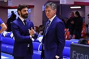 Morea Alberto, Lezzi Antonio<br /> Happycasa Brindisi - Fiata Torino<br /> Legabasket Serie A 2018-2019<br /> Brindisi , 10/03/2019<br /> Foto Michele Longo/ Ciamillo-Castoria