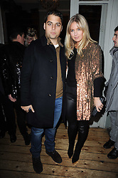 JAMIE REUBEN and MARISSA MONTGOMERY at a party to celebrate the 1st anniversary of Alice Temperley's label held at Paradise, Kensal Green, London W10 on 25th November 2010.