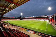 General view of the inside of the Vitality Stadium before the EFL Cup 4th round match between Bournemouth and Norwich City at the Vitality Stadium, Bournemouth, England on 30 October 2018.