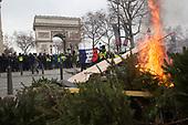 Gilets Jaunes Champs Elysees Paris