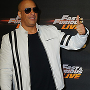 Vin Diesel Arrives at Fast and Furious Live - VIP performance at O2 Arena on 19 January 2018, London, UK.