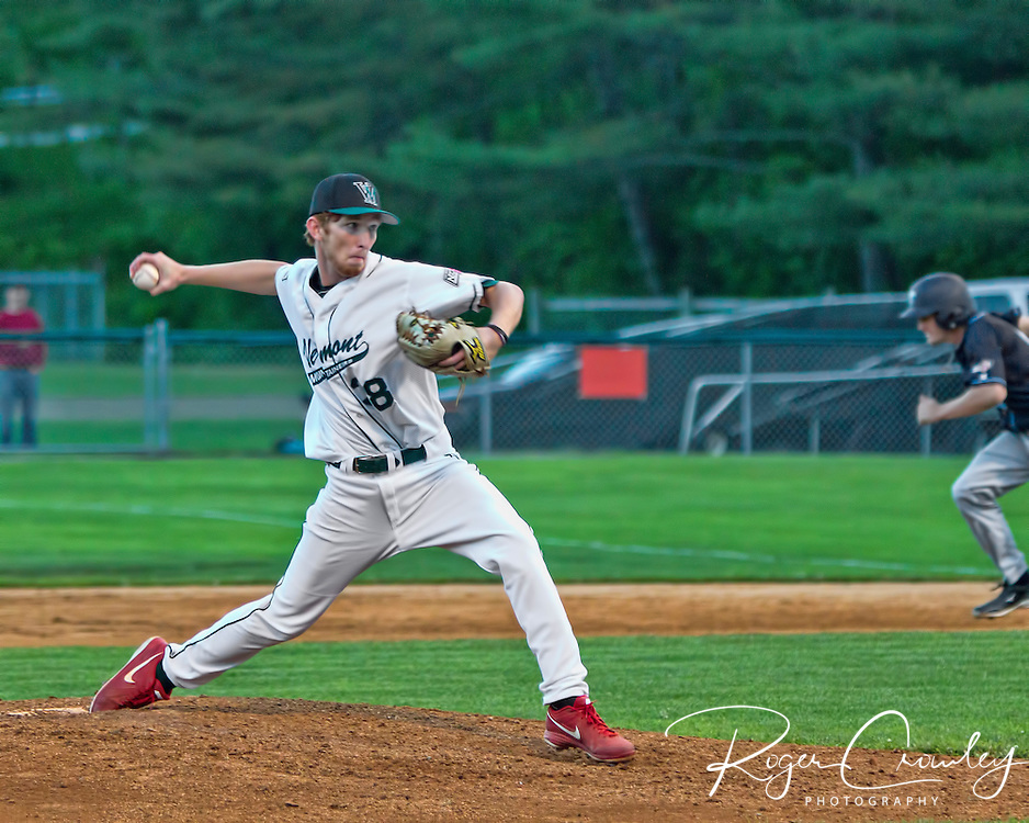 The Vermont Mountaineers defeated the Ocean State Waves, 8-1, in New England Collegiate Baseball League (NECBL) action at Recreation Field on Sunday night. Vermont sits in first place in the Northern Division with a 9-4 record.