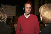 Emma Soames and Will Self, THE RAPT QUIZ, 13 November  2006, Hammersmith Town Hall. ONE TIME USE ONLY - DO NOT ARCHIVE  © Copyright Photograph by Dafydd Jones 66 Stockwell Park Rd. London SW9 0DA Tel 020 7733 0108 www.dafjones.com