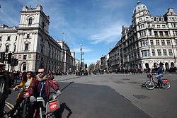UK ENGLAND LONDON 25MAR17 - Car-free streets around Parliament Square and Whitehall prior to a demonstration in central London.<br /> <br /> jre/Photo by Jiri Rezac<br /> <br /> © Jiri Rezac 2017