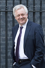 2017-03-15 Brexit Secretary David Davis is seen in Downing Street