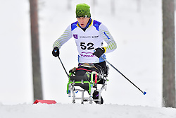 ROCHA Guilherme, BRA, LW12 at the 2018 ParaNordic World Cup Vuokatti in Finland