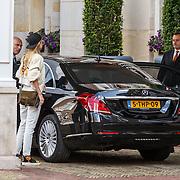 NLD/Amsterdam/20150603 - Doutzen Kroes en Jetteke van Lexmond bij hotel The Grand in Amsterdam,