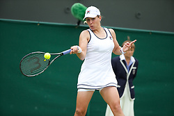 LONDON, ENGLAND - Thursday, June 27, 2013: Marina Erakovic (AUS) during the Ladies' Singles 2nd Round match on day four of the Wimbledon Lawn Tennis Championships at the All England Lawn Tennis and Croquet Club. (Pic by David Rawcliffe/Propaganda)