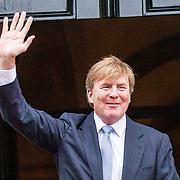 NLD/Amsterdam/20181206 - Koninklijke Familie bij Prins Claus prijs, Koning Willem Alexander