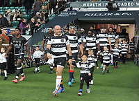 Rugby Union - 2019 Killick Cup - Barbarians vs. Fiji<br /> <br /> Barbarians Captain, Rory Best, leads out his team before his last match at Twickenham.<br /> <br /> COLORSPORT/ANDREW COWIE