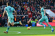 David Brooks (20) of AFC Bournemouth on the attack during the Premier League match between Bournemouth and Arsenal at the Vitality Stadium, Bournemouth, England on 25 November 2018.