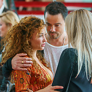 NLD/Amsterdam/20180819 - Premiere Blind Date, Katja Schuurman met Dinand Woesthoff en partner Lucy