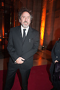 TIM BURTON, Hollywood Costume gala dinner, V and A. London. 16 October 2012