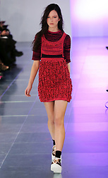 Mark Fast show at London Fashion Week Autumn/Winter 2014,  Friday, 14th February 2014. Picture by Stephen Lock / i-Images