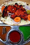 Tandoori Set at an Indian restaurant in George Town, Penang.
