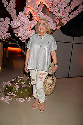 Brix Smith Start at the Warner Music Group and British GQ Summer Party in partnership with Quintessentially held at Nobu Shoreditch, Willow StreetLondon England. 5 July 2017.<br /> Photo by Dominic O'Neill/SilverHub 0203 174 1069 sales@silverhubmedia.com