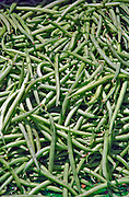 Yellow, Green Beans, Farmers Market