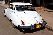 Auto Union 1000 S Coupé in Candelaria, Artemisa, Cuba.