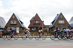 Anna van der Breggen (NED) and Lotta Lepistö (FIN) at Healthy Ageing Tour 2019 - Stage 2, a 134.4 km road race starting and finishing in Surhuisterveen, Netherlands on April 11, 2019. Photo by Sean Robinson/velofocus.com
