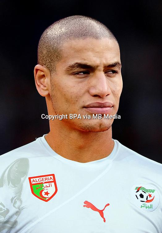 Football Fifa Brazil 2014 World Cup / <br /> Algeria National Team - <br /> Adlene Guedioura of Algeria