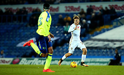 Samu Saiz of Leeds United runs with the ball - Mandatory by-line: Robbie Stephenson/JMP - 31/10/2017 - FOOTBALL - Elland Road - Leeds, England - Leeds United v Derby County - Sky Bet Championship