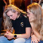 NLD/Veghel/20181221 - Presentatie van Team Jumbo, Joy Beune en Carlijn Achtereekte