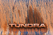 WY02347-00...WYOMING - Muddy Toyota Tundra truck.