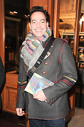 Dancer Craig Revel Horwood at the gala opening night of Cirque du Soleil's Varekai at the Royal Albert Hall, London on 5th January 2010.