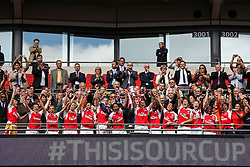 #Thisisourcup Arsenal Ladies FC beat Chelsea Ladies FC 1-0 and win the SSE Women's FA Cup - Mandatory byline: Jason Brown/JMP - 14/05/2016 - FOOTBALL - Wembley Stadium - London, England - Arsenal Ladies v Chelsea Ladies - SSE Women's FA Cup