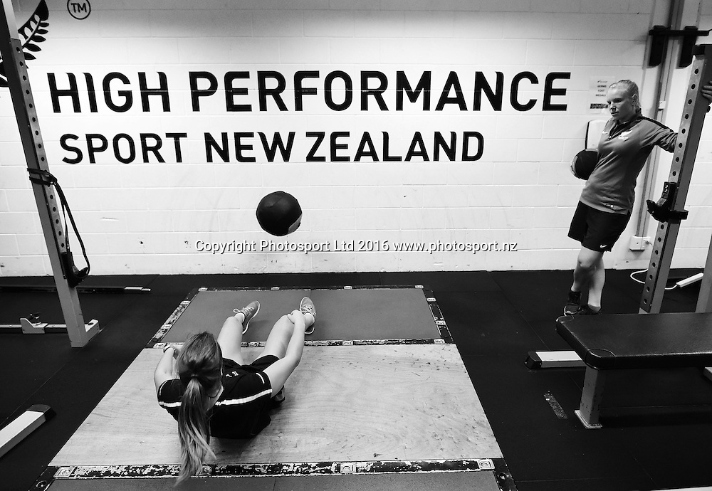 HPSNZ Training Centre. Millennium Institute, Auckland, new Zealand. Wednesday 23 March 2016. Copyright photo: Andrew Cornaga / www.photosport.nz