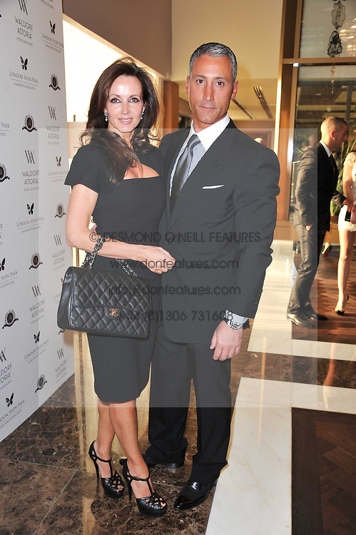 ANDREAS & SUSAN PANAYIOTOU at the opening party of the London Syon Park - A Waldorf Astoria Hotel, Syon Park, Middlesex on 19th May 2011.