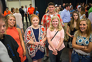 2016 Freshmen Welcome Reception.<br /> Department heads and Faculty welcomed students to CASNR