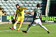 John Brayford (2) of Burton Albion passes the ball during the EFL Sky Bet League 1 match between Plymouth Argyle and Burton Albion at Home Park, Plymouth, England on 20 October 2018.