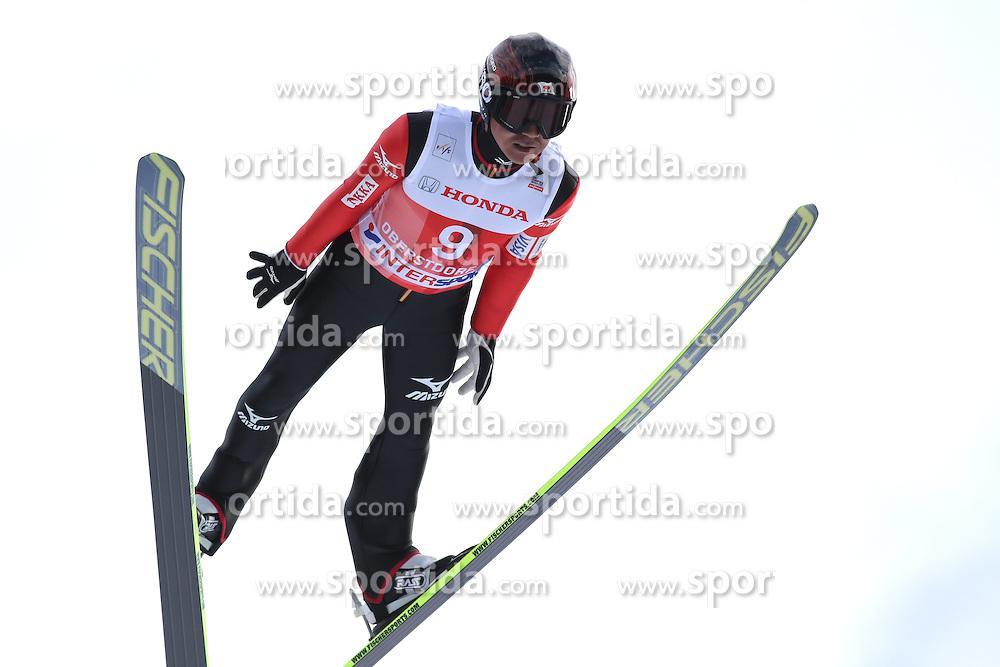 28.12.2013, Schattenbergschanze, Oberstdorf, GER, FIS Ski Sprung Weltcup, 62. Vierschanzentournee, Garmisch Partenkirchen, Bewerb, im Bild Takanobu Okabe // Takanobu Okabe during Competition of 62th Four Hills Tournament of FIS Ski Jumping World Cup at the at the Schattenbergschanze in Oberstdorf, Germany on 2013/12/28. EXPA Pictures &copy; 2014, PhotoCredit: EXPA/ Sammy Minkoff<br /> <br /> *****ATTENTION - OUT of GER*****