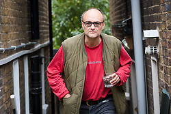 © Licensed to London News Pictures. 07/09/2019. London, UK.  Dominic Cummings, special advisor to Prime Minister Boris Johnson, seen outside his London home this morning. Photo credit: Vickie Flores/LNP