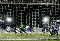 Fotball<br /> VM-kvalifisering<br /> 16.10.2012<br /> Kypros v Norge<br /> Foto: Savvides/Digitalsport<br /> NORWAY ONLY<br /> <br /> Brede Hangeland utlikner til 1:1