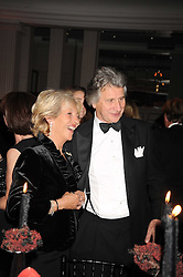 The DUCHESS OF MARLBOROUGH and ARNAUD BAMBERGER at the annual Cartier Racing Awards held at the Grosvenor House Hotel, Park Lane, London on 17th November 2008.