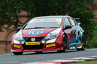 #31 Jack Goff Eurotech Racing  Honda Civic Type R  during Round 4 of the British Touring Car Championship  as part of the BTCC Championship at Oulton Park, Little Budworth, Cheshire, United Kingdom. May 20 2017. World Copyright Peter Taylor/PSP.
