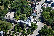 Nederland, Noord-Holland, Haarlem, 12-05-2009; Paviljoen Welgelegen in de Haarlemmerhout, deel van het provinciehuis van de Provincie Noord-Holland..Swart collectie, luchtfoto (toeslag); Swart Collection, aerial photo (additional fee required).foto Siebe Swart / photo Siebe Swart